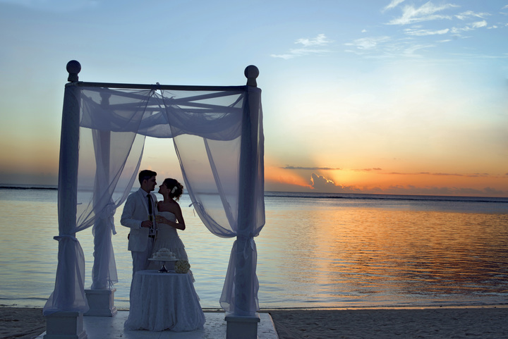 Wedding in Mauritius La Pirogue