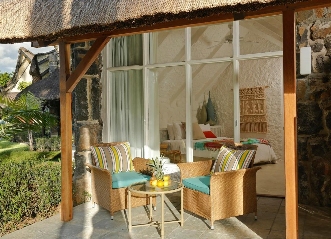 garden bungalow i la pirogue hotel mauritius i a sun resort. Black Bedroom Furniture Sets. Home Design Ideas