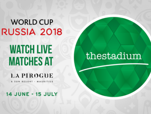 watch the fifa world cup at the stadium at la pirogue