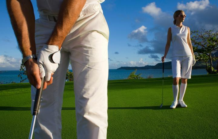 play golf in Mauritius