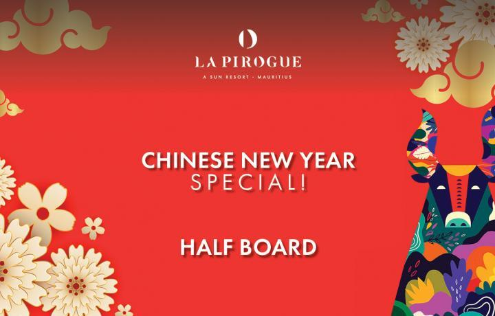 Chinese New Year Special Half-Board